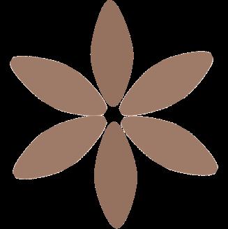 Brun blomst